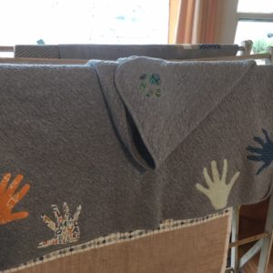 Hands and Paws Blanket